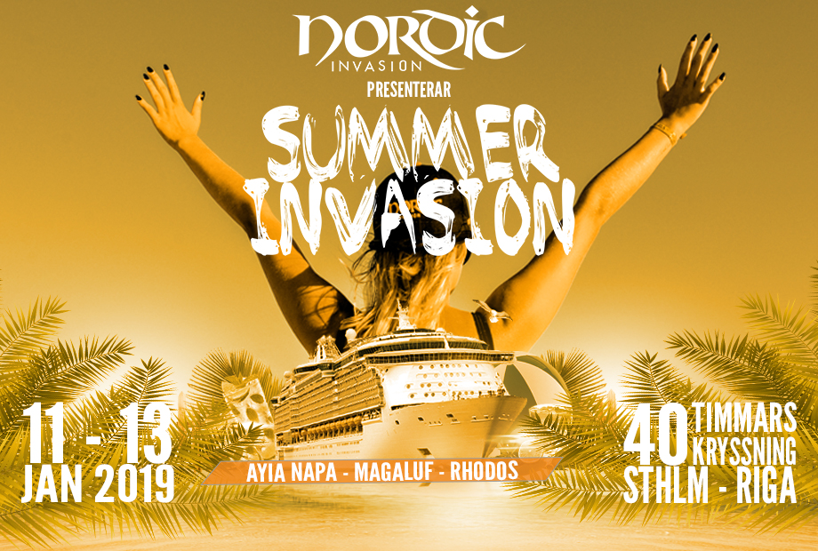 SUMMER INVASION 2019